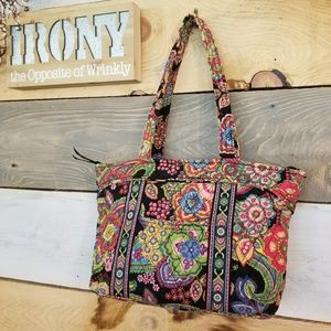 Bright Colorful Vera Bradley Tote!!